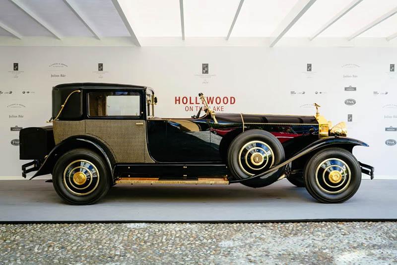 news,motoring event,1929 Rolls-Royce Phantom,1970 Lancia Stratos,1958 Fiat 500 Spiaggia,1968 Alfa Romeo 33/2 Stradale,1934 Bugatti 59,Hollywood on the Lake, on Lake Como in Italy,Villa d'Este,2018 Concorso d'Eleganza,world's rarest automobiles,