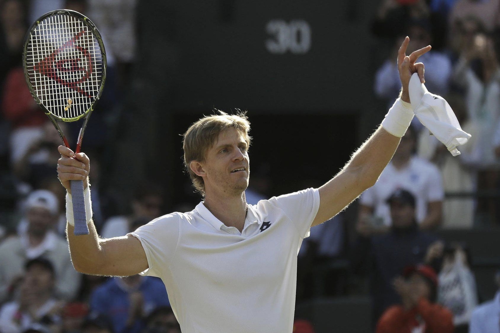 Image result for kevin anderson wimbledon 2018