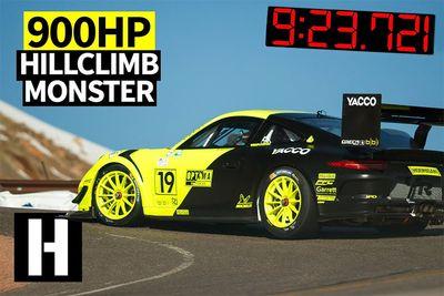 Automotive,Hoonigans,BBI Autosport,news,bespoke,record,winner,Pikes Peak International Hill Climb,Twin-turbo Porsche 911,900hp,