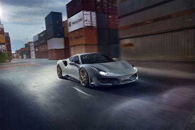 Automotive,cars,Vossen,power,tuned,modified,791bhp,Ferrari 488 Pista,Novitec,