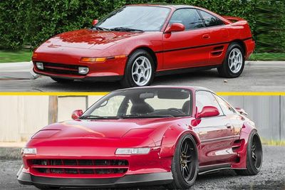 Automotive,cars,Ferrari,built,build,modify,modified,widebody,Toyota MR2,