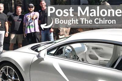 Cars,Automotive,$3000000,rapper,sxdrv,post malone,malone,post,ferrari,bentley,bugatti chiron,chiron,bugatti,News,