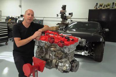 Automotive,Stephan Papadakis,news,trick,modified,1000hp,rebuild,engine,2020 Toyota Supra,assembling,Assembly,