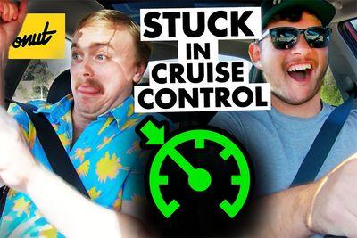 Automotive,news,race,One-chip challenge,donut,cruise control,racing,Cones,Orange,