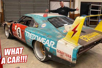 Automotive,racecar,Tred Wear,cars,scrap,fabrication,custom,Daytona,Scraptona,Dodge Charger,