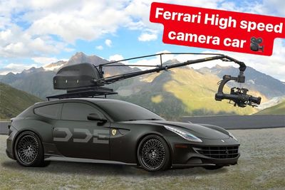 Automotive,gimbal,pursuit,cars,car,camera,high-speed,Ferarri FF,Daily Driven Exotics,DDE,