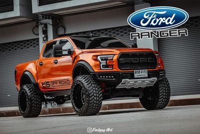 Cars,sxdrv,pickup trucks,Thailand,grille,taillights,headlights,arches,fenders,Raptor,F-150,TTN Hypersport,Ranger,Body Kit,Ford,Spotted,