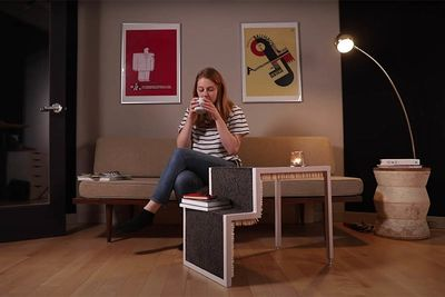 hacks,inventions,inventor,scientist,20 000,matches,coffee table,matchstick,Simone Giertz,