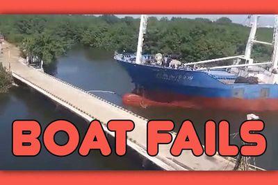 fail,sink,crash,ship,funny,ultimate,compilation,Boat fails,