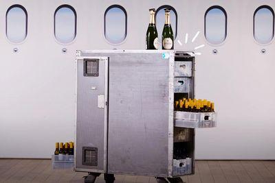 News,qantas booze cart,in-flight auction,covid-19 ,thai airways,qantas bar cart,australia airline,qantas,
