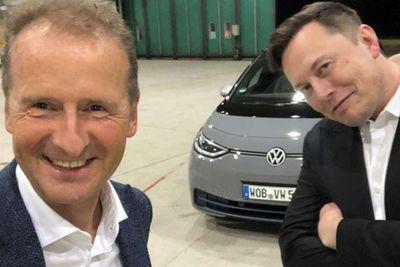 Volkswagen,Tesla,Elon Musk,CEO,VW ID3,Germany,News,