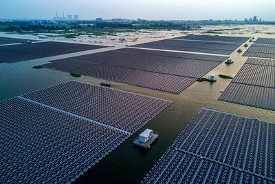 Geekerhertz,Park,Hangzhou Fengling Electricity Science Technology,farm,panel,solar,worlds largest,floating,news,